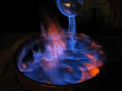 Típica queimada gallega