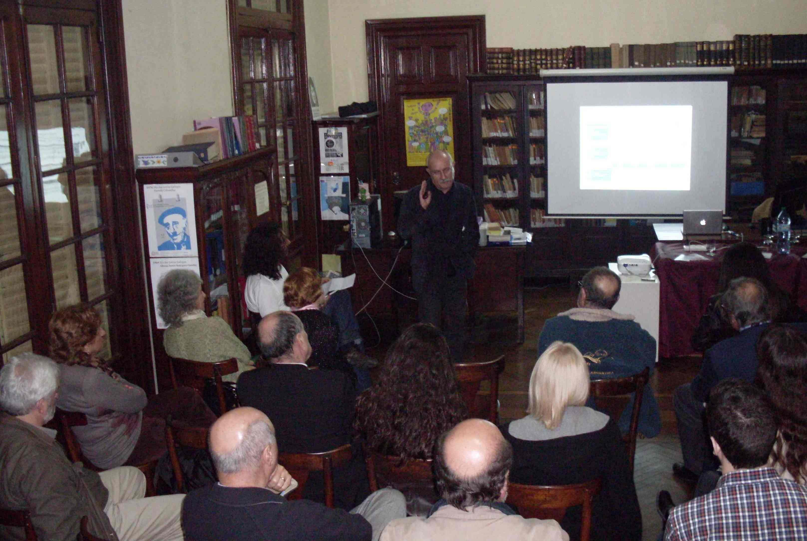 Una disertación impecable ofreció el Dr. Antonio Izquierdo Escribano