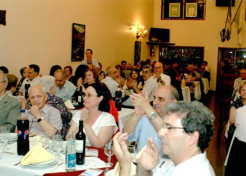El banquete reunirá a socios y amigos de la Federación