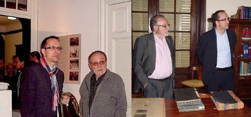 El funcionario gallego estuvo en nuestra casa el 25/4/12 y el 24/4/13