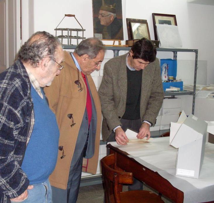 El ex Cónsul español, Pablo Barrios Almanzor, resultó un asiduo visitante del MEGA