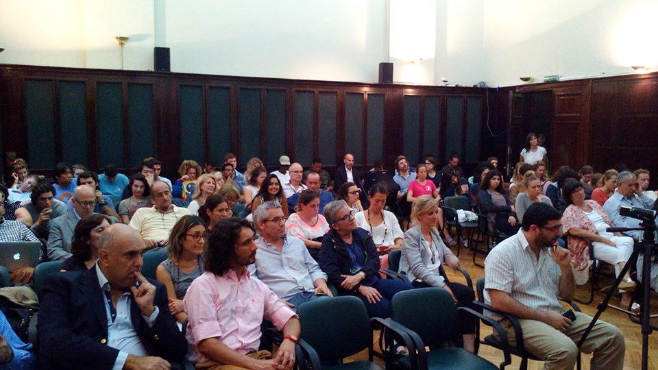 Numeroso público asistió al seminario sobre la inmigración vasca