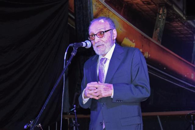 Francisco Lores, presidente de la Federación de Asoc. Gallegas durante su intervención (Copy)